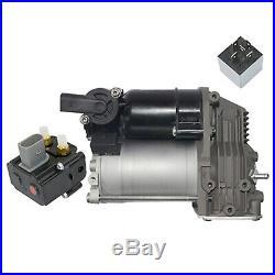 BMW 5er E61 Kompressor Luftfederung Niveauregulierung + Ventil Kit Neu