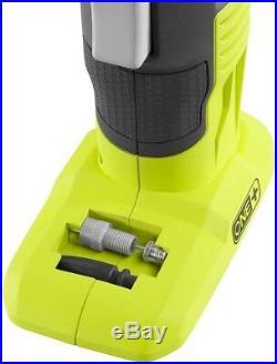 CORDLESS AIR COMPRESSOR COMBO KIT 18 Volt Portable Tire Pump Inflation RYOBI