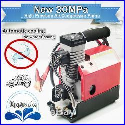 Car/ Household High Pressure Air Compressor Pump 12V/110V PCP Electric 4500PSI