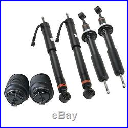 Complete Suspension Air Shock Struts & Rear Springs For Lexus GX470 2003-09 6pcs