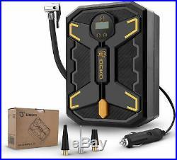 DEKO 150 PSI Digital Tire Inflator 12V DC Portable Air Compressor Pump