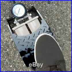 Double Barrell Cylinder Pump Air Inflator Foot Pump Car Bicycle Bike Tyre Items