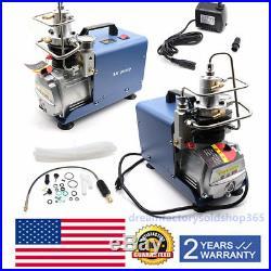 Electric Air Pump High Pressure Paintball Air Compressor PCP 30MPa/4500PSI NEW