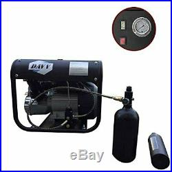 Electric Air Pump for Fire Fighting Diving Paintball Scuba Tank Fill Auto Stop
