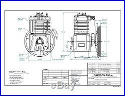 Fs Curtis E57 Basic Compressor Pump Two Stage
