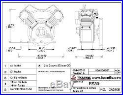 FS CURTIS ES30 BASIC COMPRESSOR PUMP