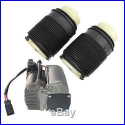 Für Mercedes E Klasse W212 S212 Luftkompressor Pumpe + Hinten paar Luftfederung