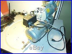 Gast Pump Air Compressor with Marathon Electric M200GX A/C Motor