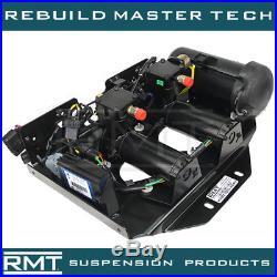 HUMMER H2 2003-2007 OEM DUNLOP Air Suspension Compressor, Valve Block & Dryer