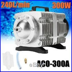 Hailea Portable 45-275 L/min Electric Air Compressor Pump Hydroponic Fish Pond