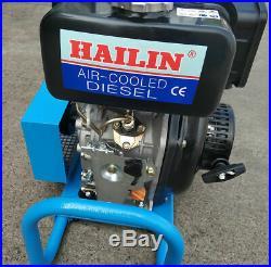 High Pressure Air Compressor Pump HAILIN Diesel Engine 100L/min Air Cool 4500psi