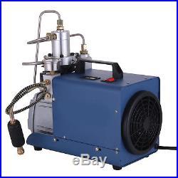 High Pressure Air Pump Electric 110V 300BAR Air Compressor 4500PSI Rifle 30MPA