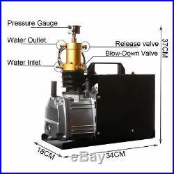 High Pressure Air Pump Electric PCP Air Compressor for Airgun Scuba Rifle E