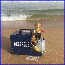 High Pressure Air Pump Electric PCP Air Compressor for Paintball Fill 38MPA 220V