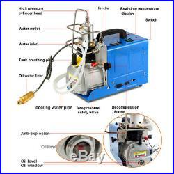 High Pressure PCP Air Compressor Electric Air Pump for Scuba Tank Diving 30MPA