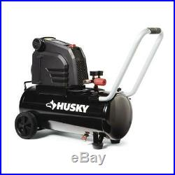 Husky Hotdog Air Compressor 150 PSI Electric Oil-Free Pump Single Stage