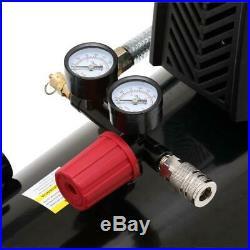 Husky Hotdog Air Compressor 8G 150 PS Portable Oil-Free Pump Single Stage