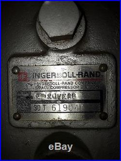 Ingresoll Rand Dual-head 15h. P. Vacuum Pump/compressor 3-station Pumps