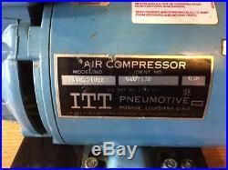 ITT Pneumotive LGH-210-X Air Compressor Pump