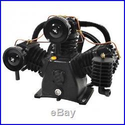 Industrial! Polar Air! 7.5HP 3 Cylinder 2 Stage Air Compressor Pump
