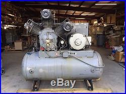 Ingersoll-Rand Model 30T Air Compressor, 30HP Marathon Motor, Pump