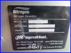 Ingersoll Rand Nitrogeneration compressor tire nitrogen generator inflation pump