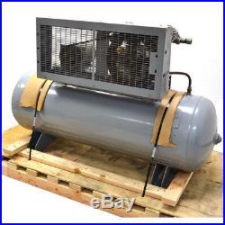 Ingersoll Rand T30 Vacuum Pump Reciprocating Compressor V235D1.5 80-Gallon Tank