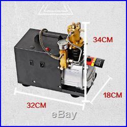 Intbuying 30MPa 4500PSI Air Compressor Pump High Pressure PCP Electric Pressure
