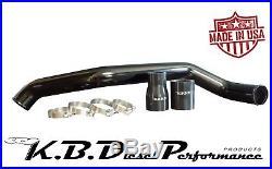 KBDP Gloss Black Intercooler Pipe Hot Side 2011-2016 Chevy GMC Duramax 6.6 LML