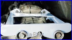 KB Silver Allison Transmission Brace 2001-07 Chevy GMC 6.6l Duramax LB7 LLY LBZ