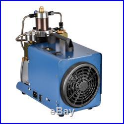 KWASYO 30MPA 4500PSI High Pressure Air Compressor PCP Airgun Scuba Air Pump US