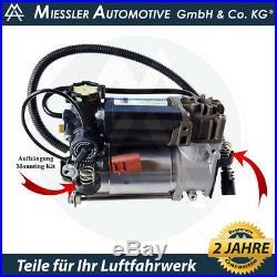 Kompressor Audi A8 Luftfederung nur Benziner OEM WABCO + Kit
