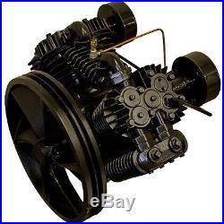 LP Air Compressor Pump Replacement, LP210, 10-15 HP, 63 CFM, Two Stage SALE