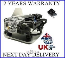 Land Rover Discovery 3 Air Suspension Compressor Lift Pump & Relay Lr023964 Tks