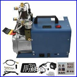 NEW 4500PSI Air Compressor Pump PCP Electric High Pressure 110V 30MPa US