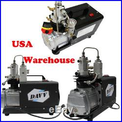 NEW High Pressure Air compressor Pump Electric Paintball PCP Refill Home Use