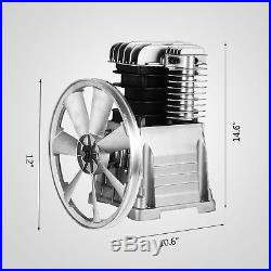 New Industrial 17cfm, Twin Cylinder Air Compressor Pump Suitable For 4hp