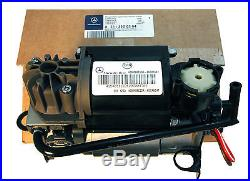Original Mercedes W220 W211 W219 Airmatic Suspension Compressor Air