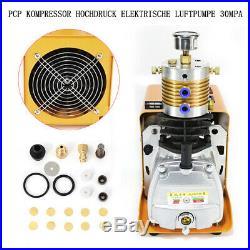 PCP 300bar 4500psi Electric Air Pump High Pressure Paintball Air Compressor 220V