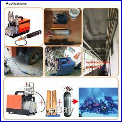 PCP Air Compressor Oil Water Filter Diving Separator 4500 PSI 300bar 30mpa Pump