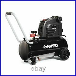 PORTABLE HOTDOG AIR COMPRESSOR HUSKY 150 PSI 8 Gal. Oil-Free Electric Pump Tool