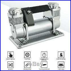 Portable 24V Heavy Duty 150PSI Car Tyre Air Pump Tire Inflator Air Compressor