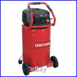 Portable Air Compressor Craftsman 20 Gallon Oil Free 155 PSI Pump Vertical New