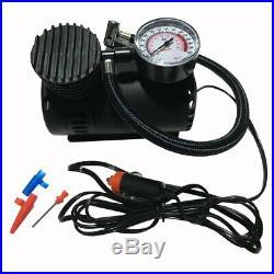 Portable Car Air Compressor Heavy Duty Inflator Tire Pump 12V 300 PSI