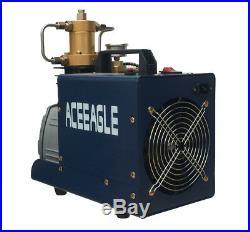 Portable High Pressure Electric Air Pump PCP Air Compressor Pump 40mpa 220V