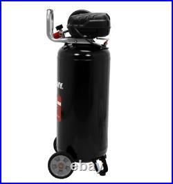 Portable Vertical Electric Air Compressor Tool 20 Gal. 200 PSI Oil Free Pump