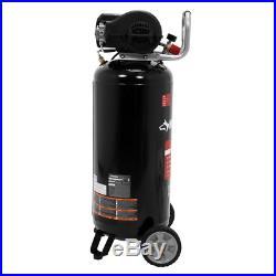 Portable Vertical Electric Air Compressor Tool 20 Gal. 200 PSI Oil Free Pump New