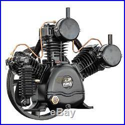 Puma TUK-50 3 Cylinder Two Stage Cast Iron Air Compressor Pump 26.5 CFM 175 PSI