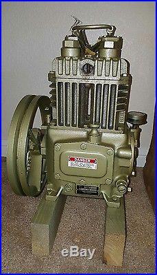 Quincy Model 206 Air Compressor Pump Head Nos 2 215 2 Air