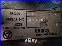 QUINCY MODEL 216 COMPRESSOR PUMP